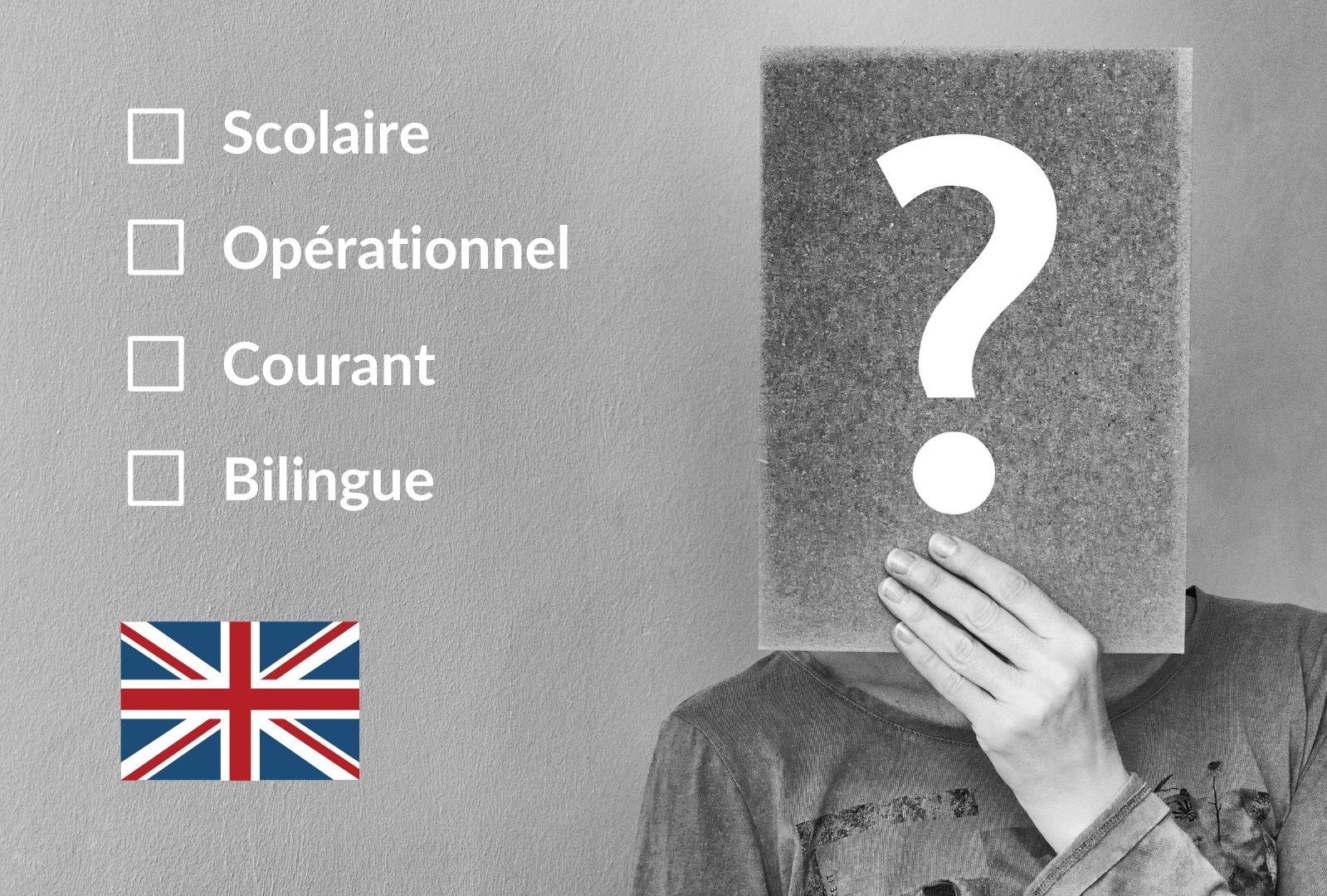 comment connaître son niveau d'anglais